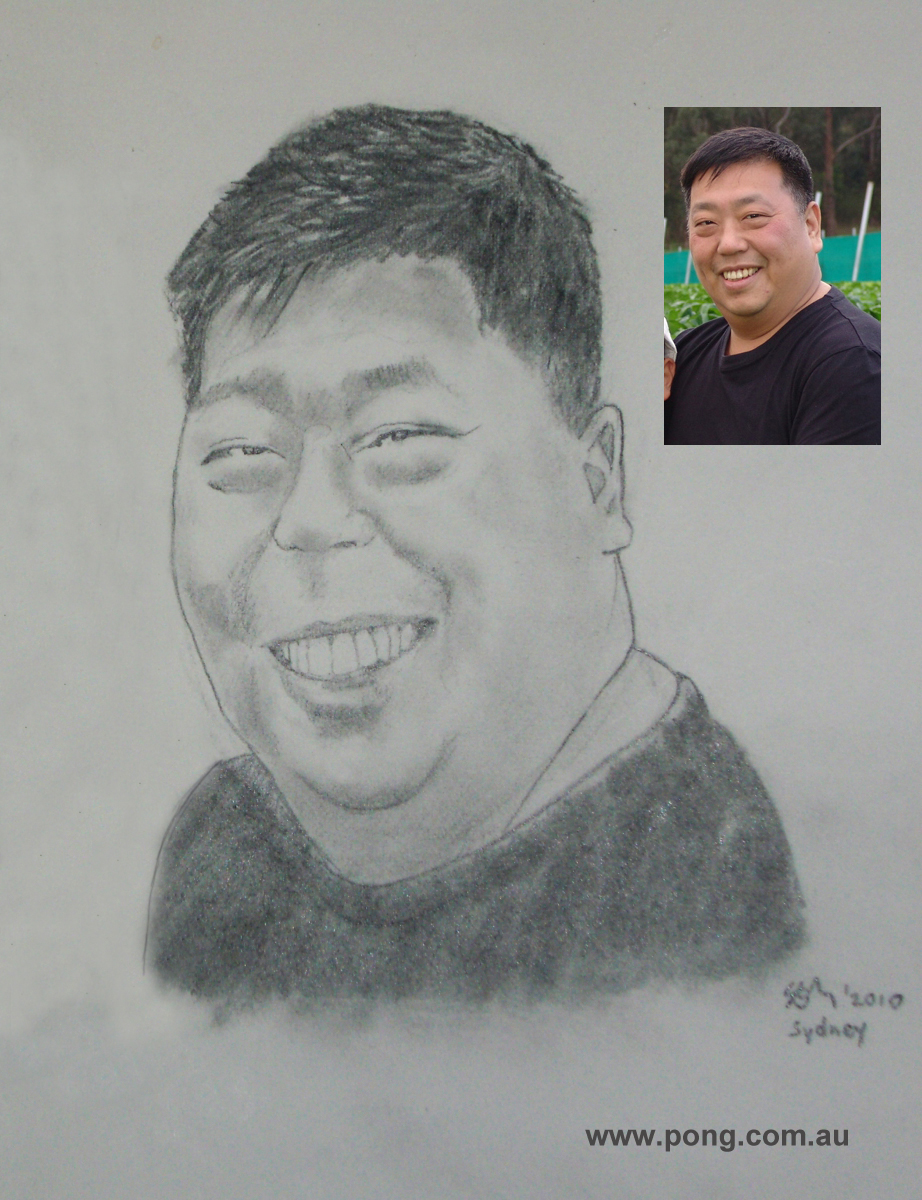 ernest wong caricature