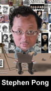 stephen pong caricature icon